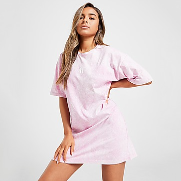 11 Degrees Acid Wash T-Shirt Kleid