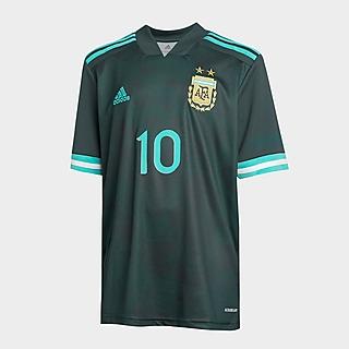 adidas Argentina FA 2020/21 Messi #10 Away Shirt Kinder