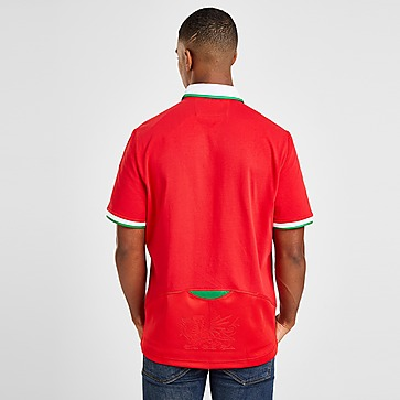 Macron Wales RU 2020/21 Cotton Home Shirt Herren
