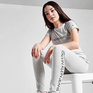 Calvin Klein Girls' Logo Leggings Kinder