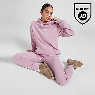 Nicce Logo Fleece Jogginghose Damen
