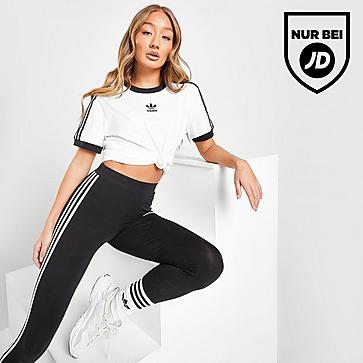 adidas Originals 3-Stripes Trefoil Boyfriend T-Shirt Damen