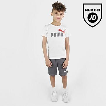 Puma Essential Logo T-Shirt/Shorts Set Kleinkinder