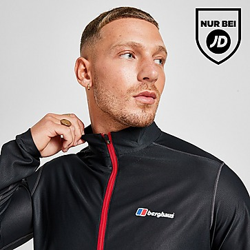 Berghaus Long Sleeve Poly 1/2 Zip Top