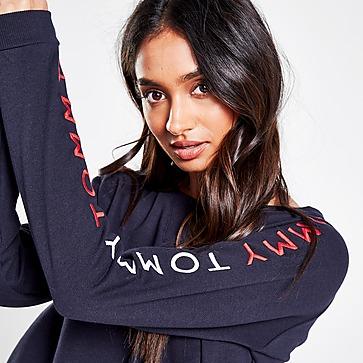 Tommy Hilfiger Embroidered Logo Crew Sweatshirt Damen