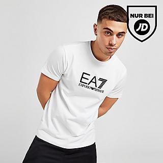 Emporio Armani EA7 Silicone Large Logo T-Shirt Herren