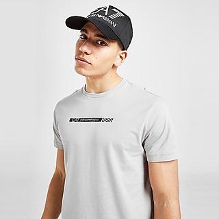 Emporio Armani EA7 Carbon Stripe T-Shirt Herren