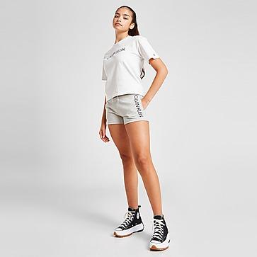 Calvin Klein Girls' Logo Shorts Kinder