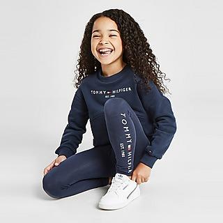 Tommy Hilfiger Girls' Essential Sweatshirt/Leggings Set Kleinkinder