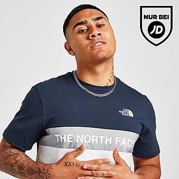 The North Face Woven Colour Block T-Shirt Herren