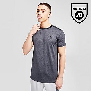 Gym King Core Split Poly T-Shirt Herren