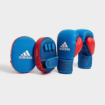 adidas Boxing Gloves & Focus Mitts Set Kinder