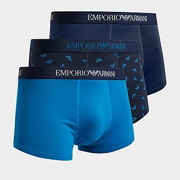 Emporio Armani Loungewear 3 Pack Boxer Shorts Herren