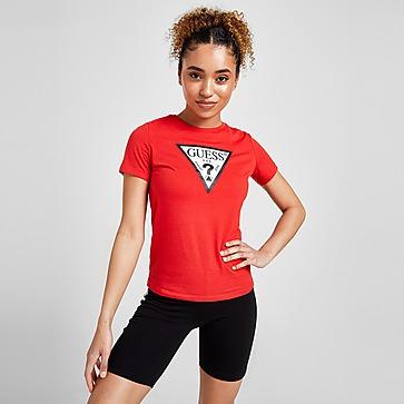GUESS Core Logo T-Shirt Damen