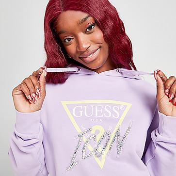 Guess Jeans Icon Logo Hoodie Damen