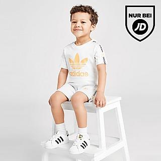 adidas Originals Tape T-Shirt/Shorts Set Baby
