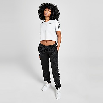 Kappa Crop Tape T-Shirt Damen