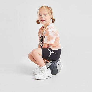 Jordan Girls' Tie Dye T-Shirt/Shorts Set Baby