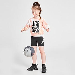 Jordan Girls' Tie-Dye T-Shirt/Shorts Set Kleinkinder