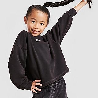 Nike Girls' Washed Crew Sweatshirt Kleinkinder