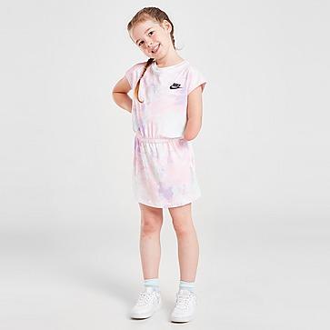 Nike Girls' Tie Dye T-Shirt Kleid Kleinkinder