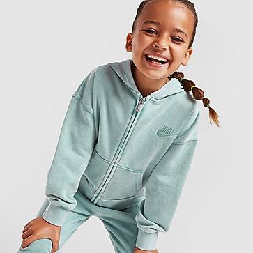 Nike Girls' Washed Full Zip Hoodie Kleinkinder