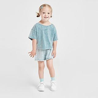 Nike Girls' Washed T-Shirt/Shorts Set Baby