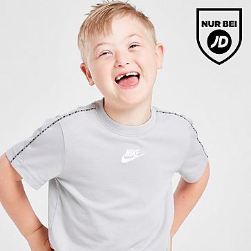 Nike Swoosh Tape T-Shirt/Shorts Set Kleinkinder