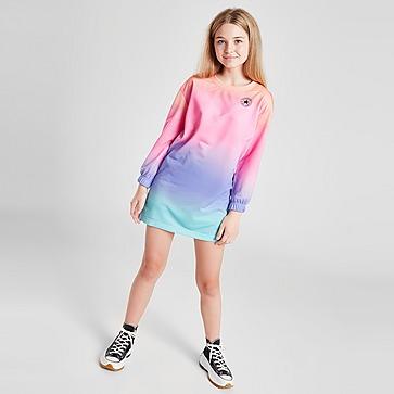Converse Girls' Ombre Langarmshirt  Kleid Kinder