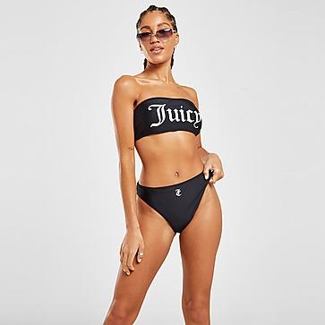 JUICY COUTURE Logo High Waist Bikini Bottoms Damen