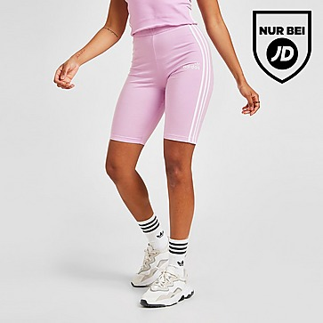 adidas Originals 3-Stripes Linear Cycle Shorts Damen