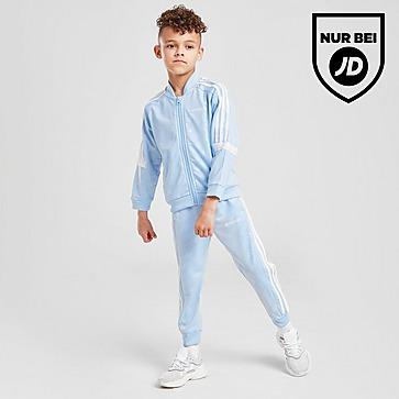adidas Originals Linear All Over Print SS Trainingsanzug Kleinkinder