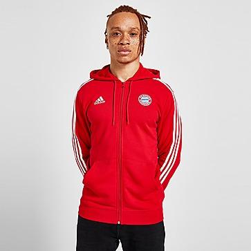 adidas FC Bayern München 3-Streifen Kapuzenjacke