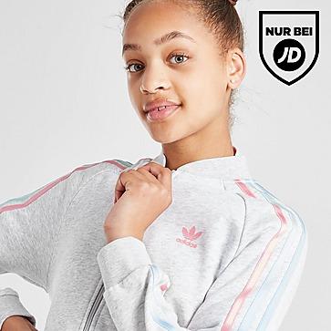 adidas Originals Girls' Tricolour 3-Stripes SS Trainingsoberteil Kinder