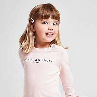 Tommy Hilfiger Girls' Essential Langarmshirt  T-Shirt Baby