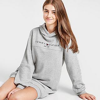 Tommy Hilfiger Girls' Essential Hoodie Kleid Kinder