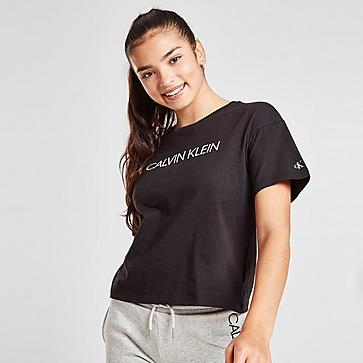 Calvin Klein Girls' Institutional Box T-Shirt Kinder