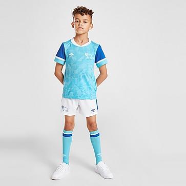 Umbro Derby County FC 2021/22 Away Kit Kleinkinder