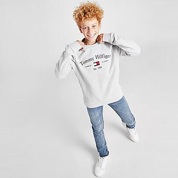 Tommy Hilfiger Artwork Crew Sweatshirt Kinder