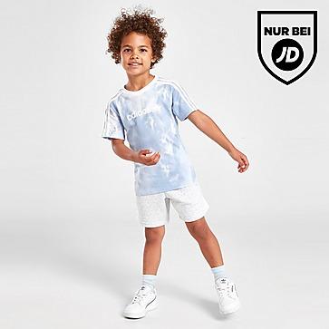 adidas Originals Tie Dye T-Shirt/Shorts Set Kleinkinder