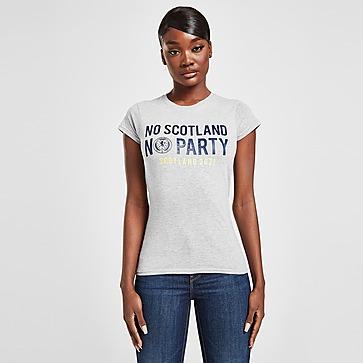 Official Team Scotland No Party T-Shirt Damen