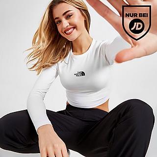 The North Face Long Sleeve Crop T-Shirt Damen