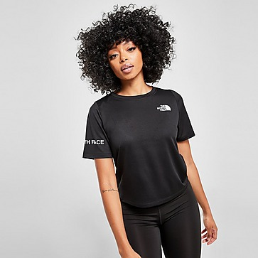 The North Face Mountain Athletics Crop T-Shirt Damen