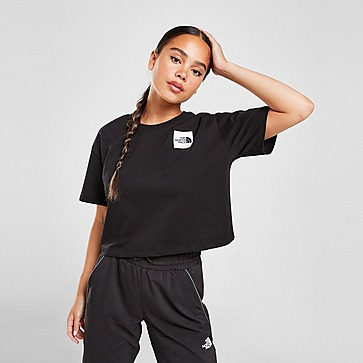 The North Face Box Logo Crop T-Shirt Damen