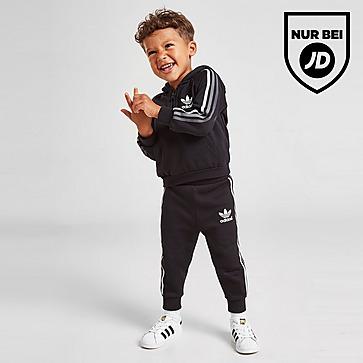 adidas Originals Tri Stripe 1/4 Zip Set Baby