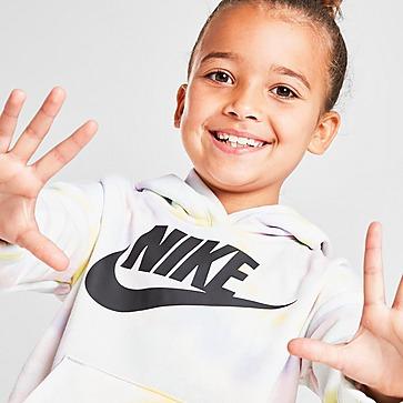 Nike Girls' Club Tie Dye Hoodie Kleinkinder