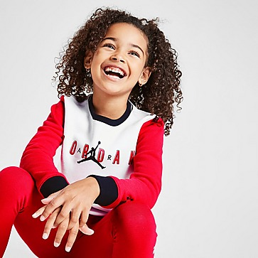 Jordan Girls' Jumpman Colour Block Poly Trainingsanzug Kleinkinder