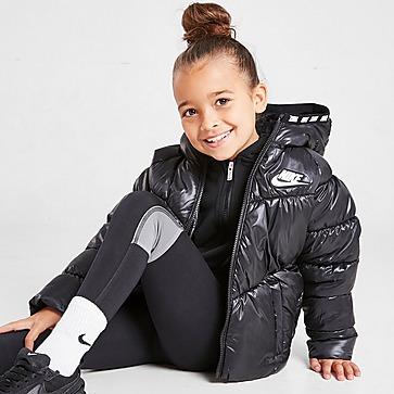 Nike Girls' Chevron Padded Jacke Kleinkinder