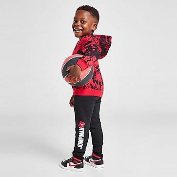 Jordan Essential All Over Print Hooded Trainingsanzug Baby