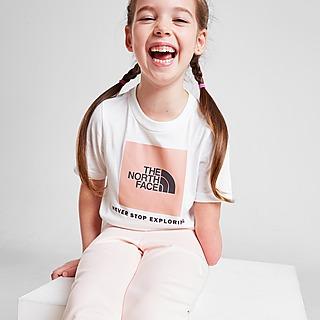 The North Face Girls' Box T-Shirt Kleinkinder